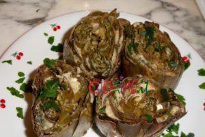 carciofi ripieni con mollica