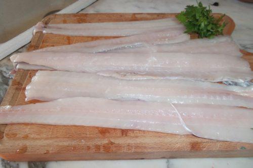 Filetti di pesce spatola