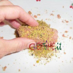 Involtini di maiale con pistacchio