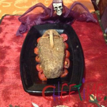 carne tritata  per Halloween
