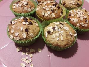 muffin d'avena